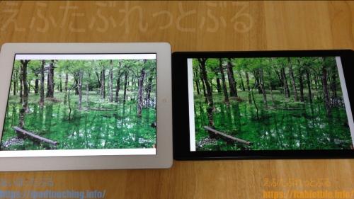 iPad4比較Fire HD 10雑誌の横