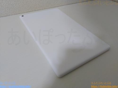 Fire HD 10 タブレット(2019・第9世代)ホワイト本体の裏面